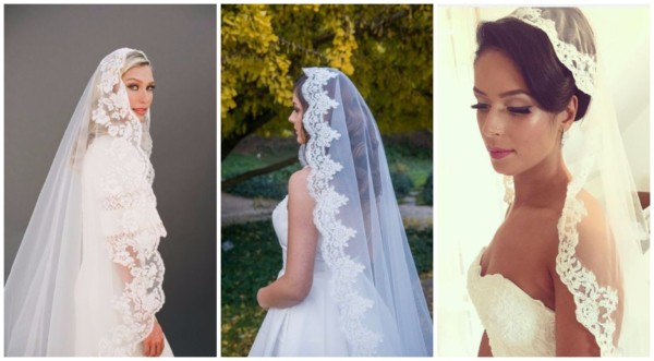 Mantilha de noiva – 30 modelos delicados para impressionar!