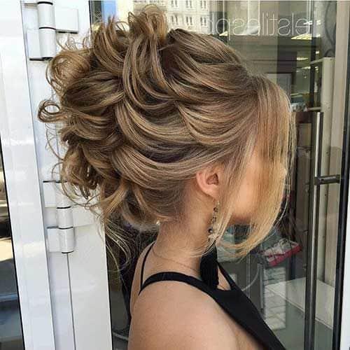 penteado cabelo preso 65