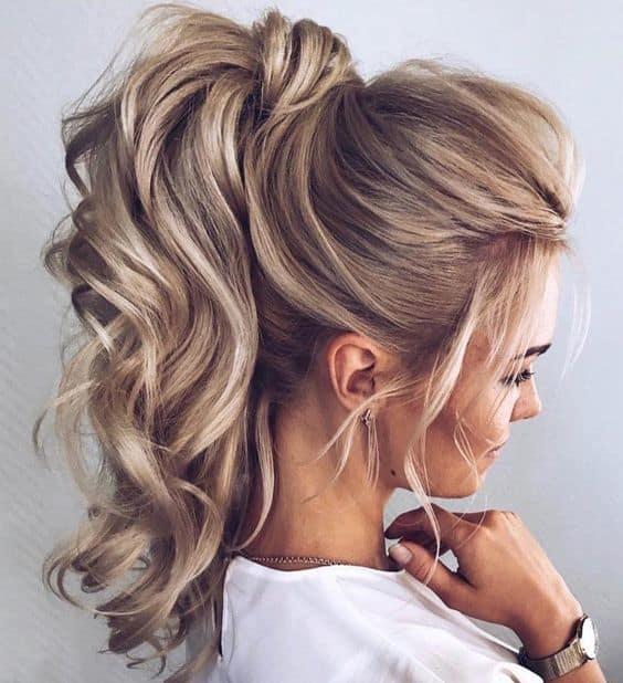 penteado cabelo preso 67
