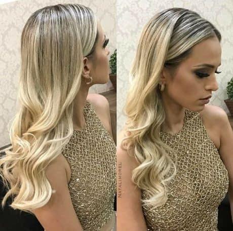 penteado para cabelos solto 56
