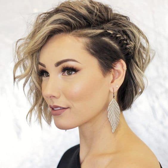 penteado para madrinha cabelo curto 10
