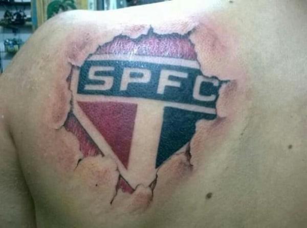 tatuagem São Paulo nas costas como fazer