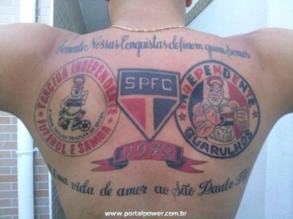 tatuagem São Paulo nas costas dicas