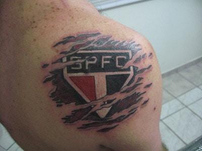 tatuagem São Paulo nas costas