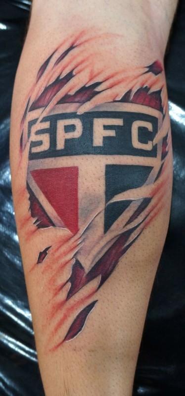 tatuagem São Paulo no braço