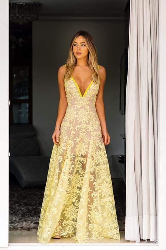 vestido amarelo para madrinha casamento 79