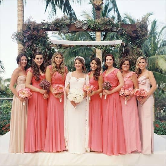 vestido bridemaid cor salmão 59