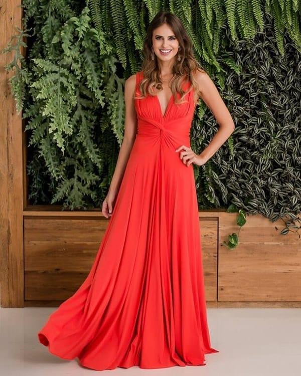 vestido bridemaid cor salmão 65