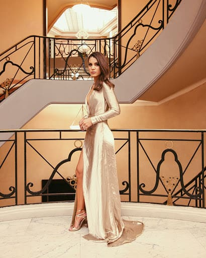 vestido bridesmaid com manga 98