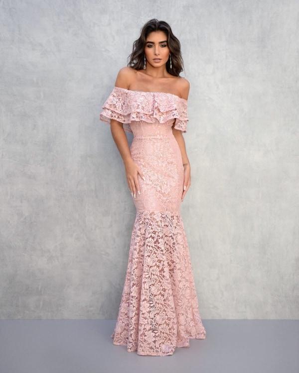 vestido bridesmaid ombro a ombro 97