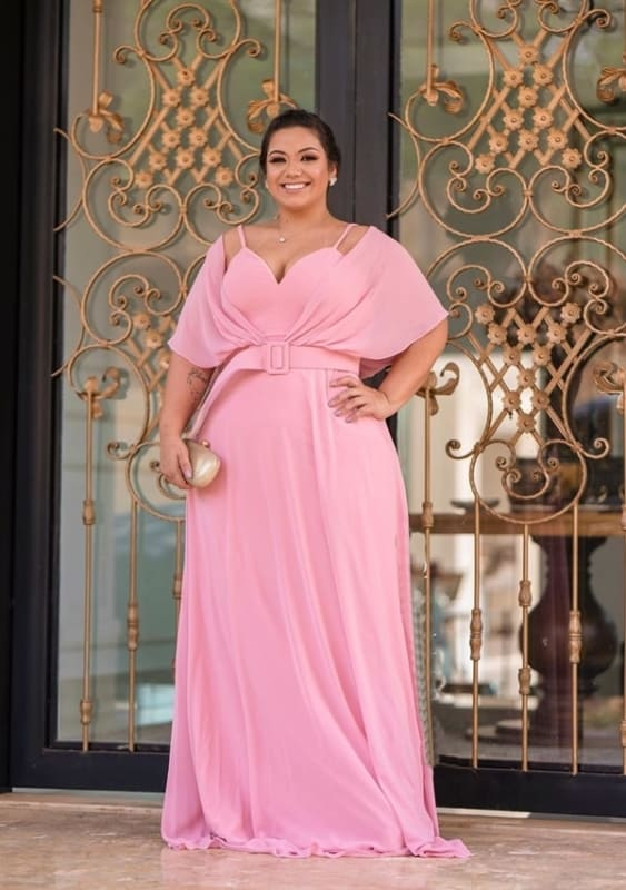 vestido bridesmaid plussize 108