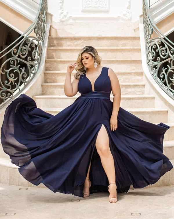 vestido bridesmaid plussize 109