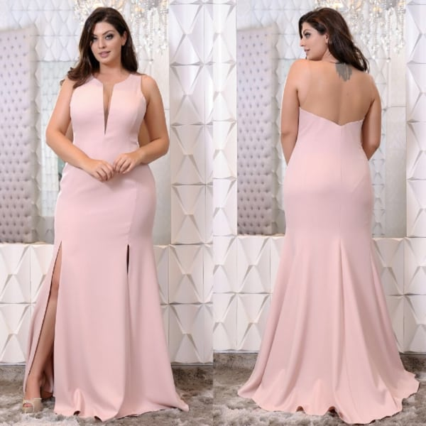 vestido bridesmaid plussize 112