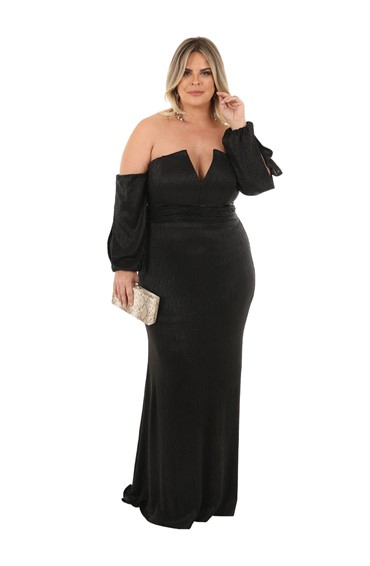 vestido bridesmaid plussize 114