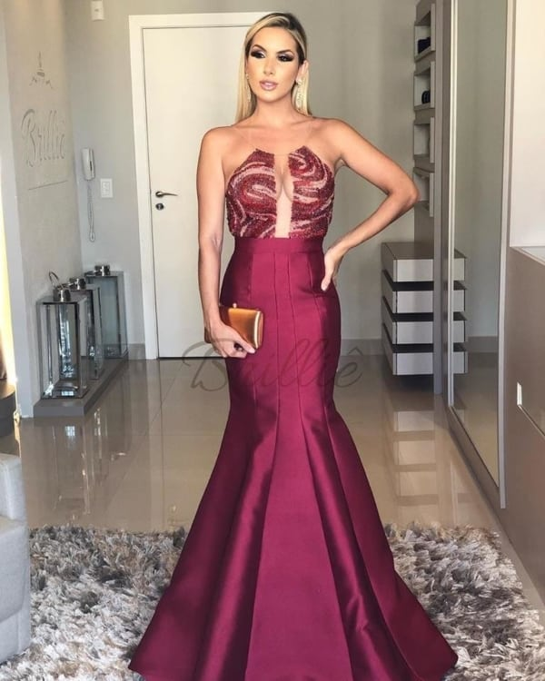 vestido bridesmaid sereia 104