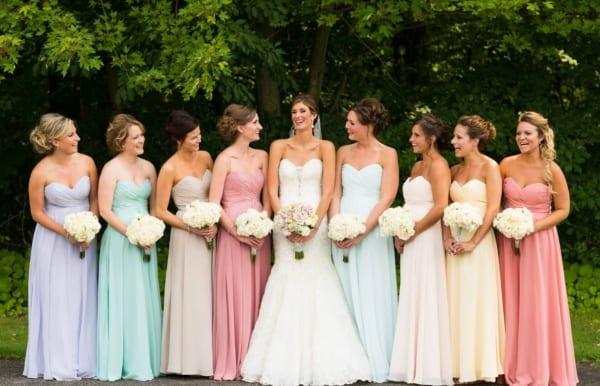 vestido bridesmaid tons pastéis 66