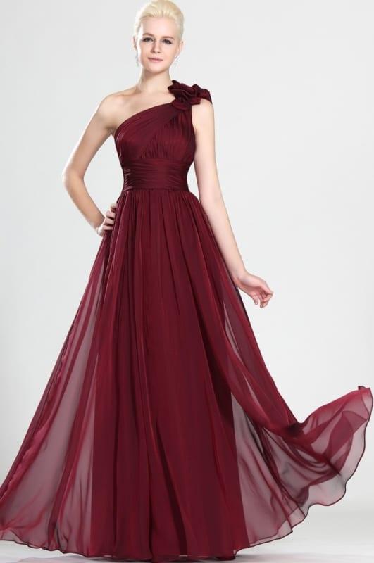 vestido de madrinha vermelho vinho 08