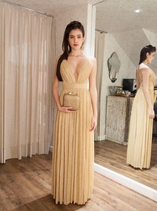 vestido dourado bridesmaid 43