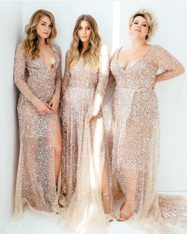 vestido dourado bridesmaid 45