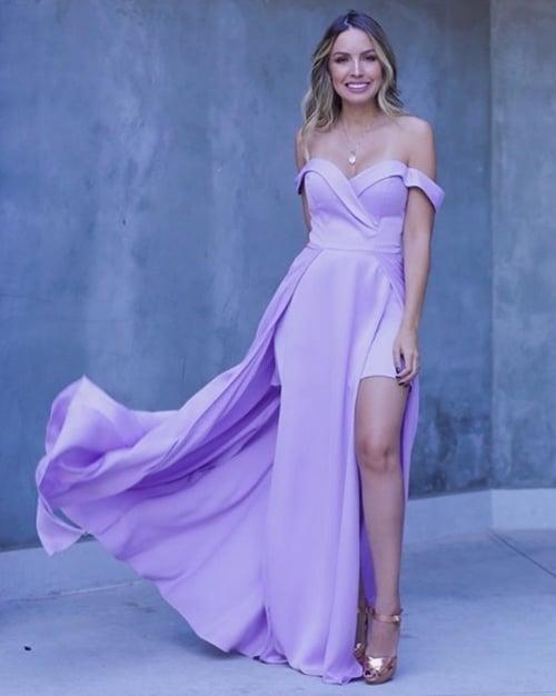vestido lilás bridesmaid 47