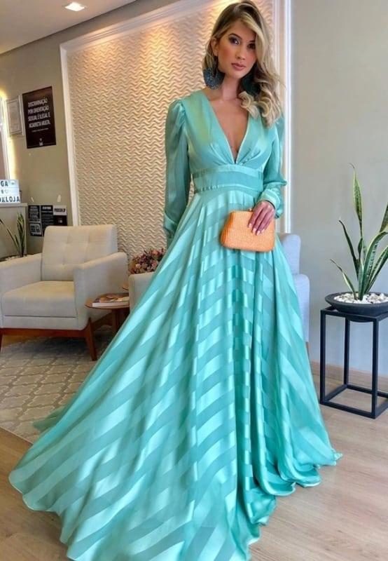 vestido madrinha de casamento azul 33