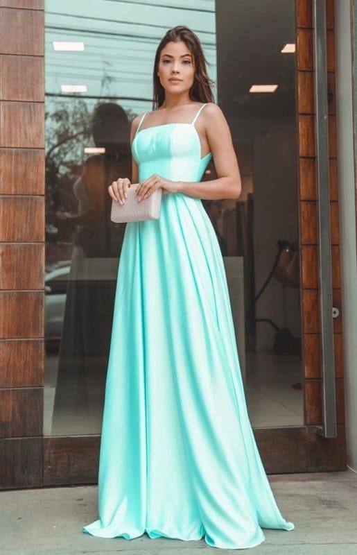 vestido madrinha de casamento azul 35