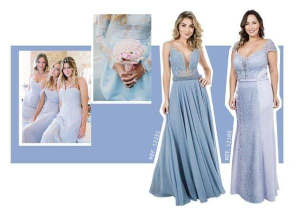 vestido madrinha de casamento azul serenity 25