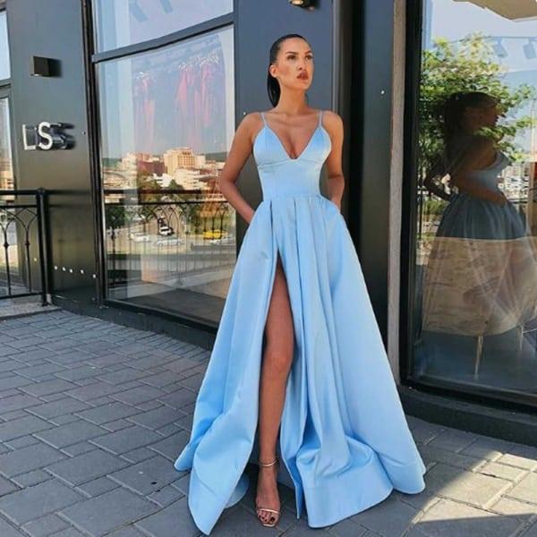 vestido madrinha de casamento azul serenity 26
