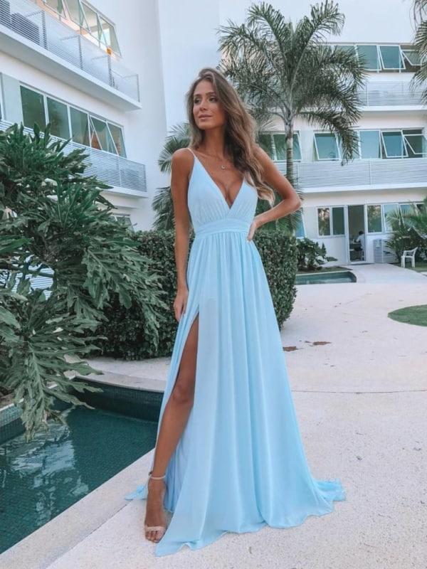 vestido madrinha de casamento azul serenity 27