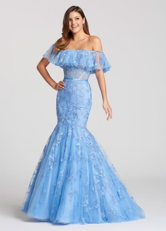 vestido madrinha de casamento azul serenity 28