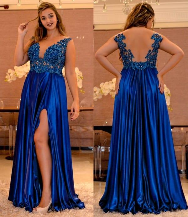 vestido madrinha decasamento azul royal 19