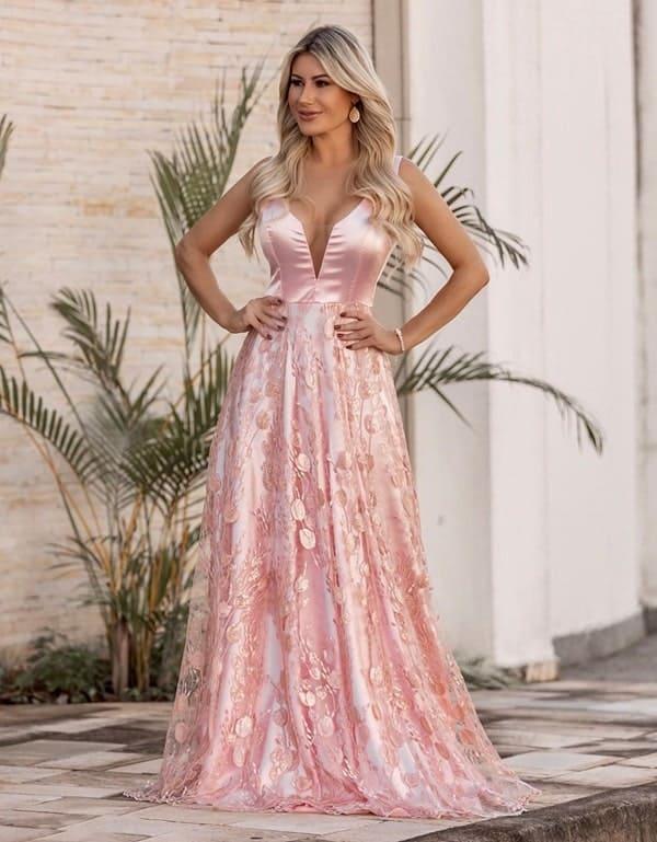 vestido madrinha para casamento noite 133