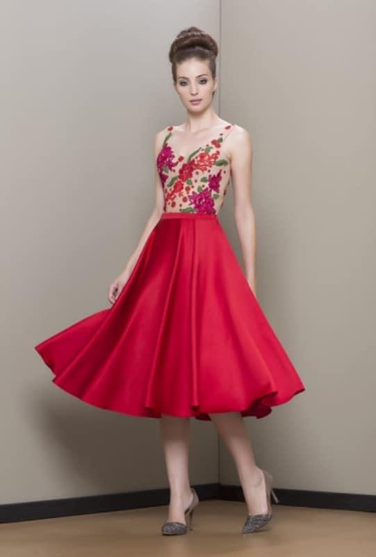 vestido para madrinha curto86
