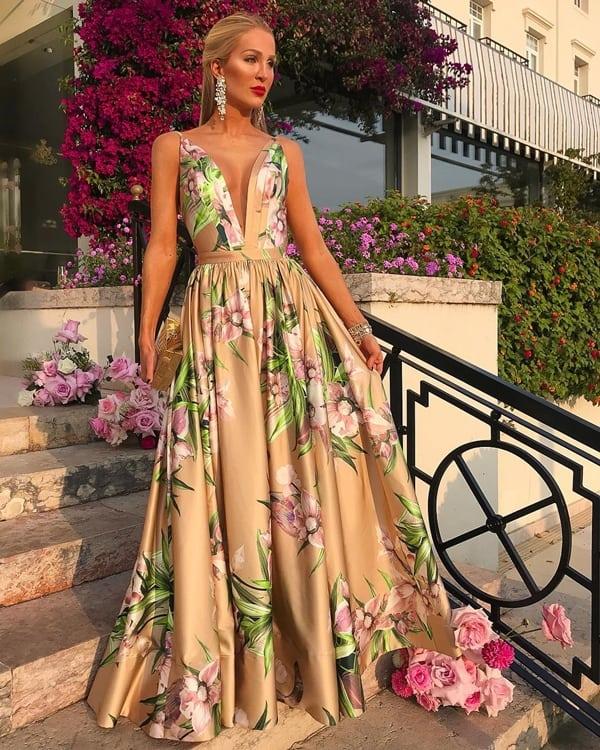 vestido para madrinha longo 90