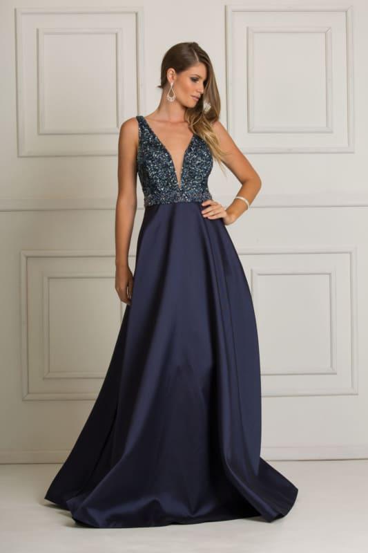 vestido para madrinhas cor azul 17