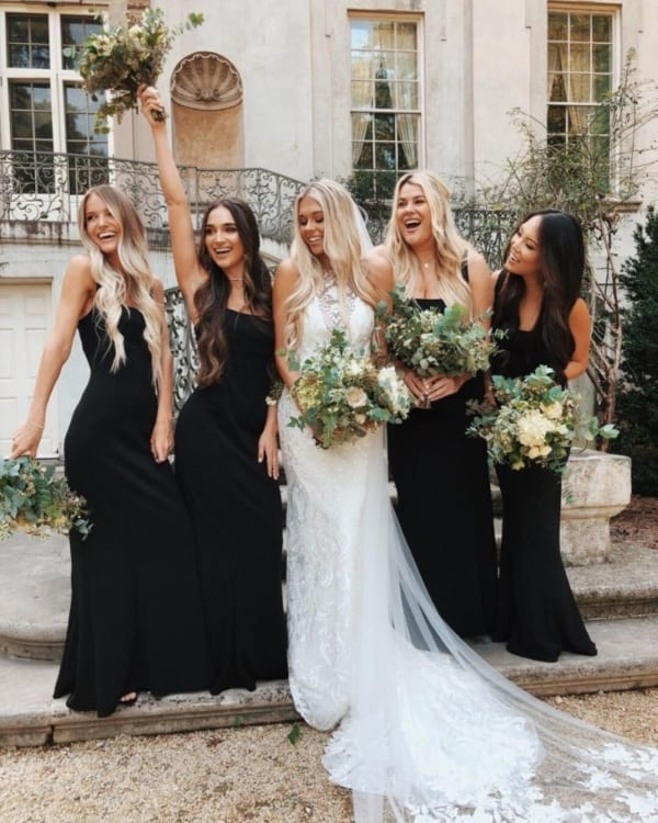 vestido preto bridesmaid 49