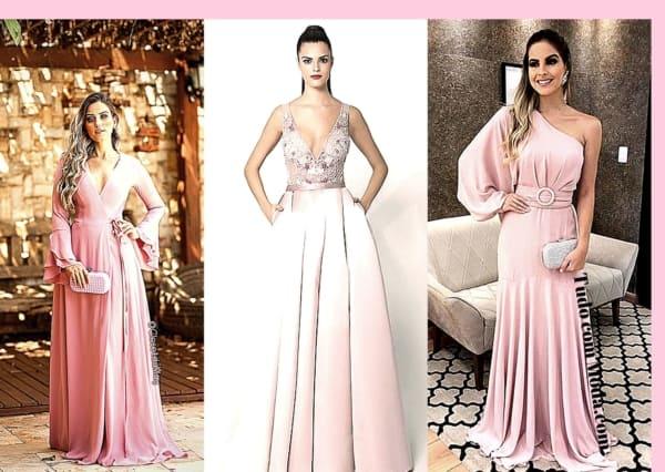 vestido rosa para madrinhas 52