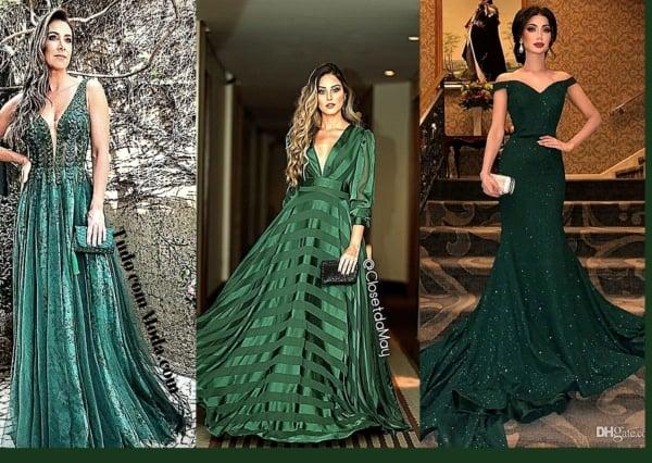 vestidos de madrinha verde 75
