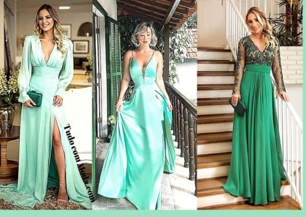 vestidos de madrinha verde 76