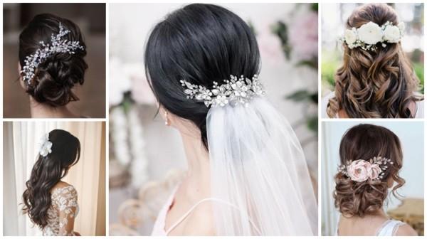 Arranjo de cabelo para noiva – 43 inspirações e onde comprar!