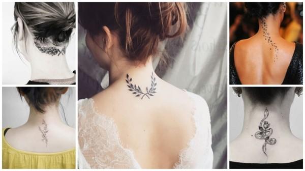 Tatuagem na Nuca Feminina: +50 Tattoos Perfeitas!【2020】