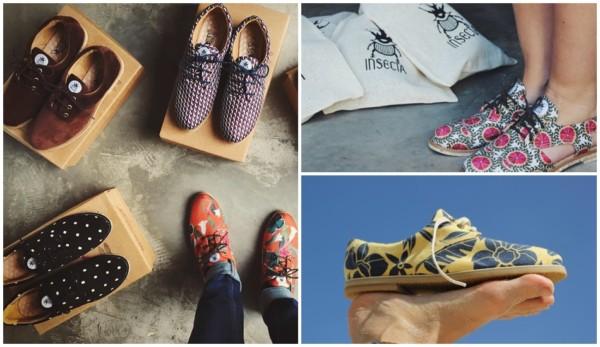 marca de sapato sustentável e upcycling