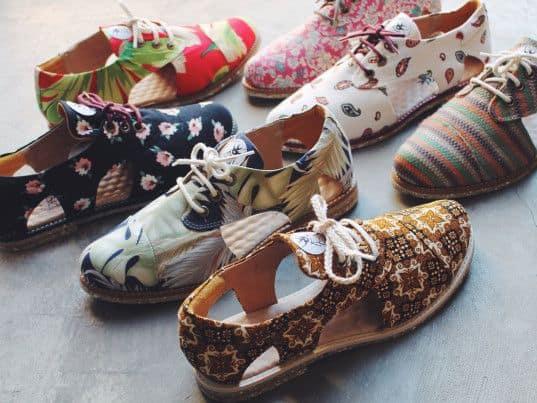 modelos de calçados upcycling