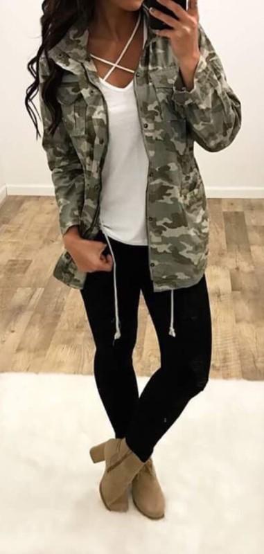 look com legging preta e jaqueta
