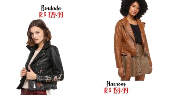 modelos e onde comprar jaqueta biker