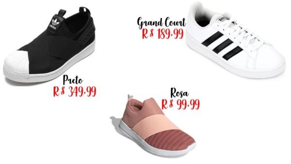 onde comprar tênis feminino Adidas