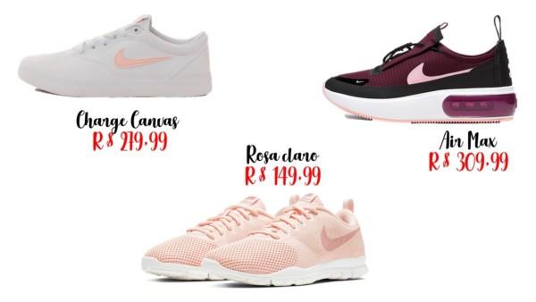 modelos e onde comprar tênis Nike