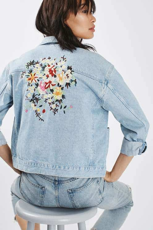 jaqueta jeans upcycling