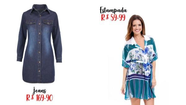 lojas e preços de chemise