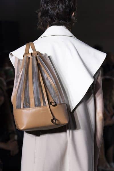 Bolsa saco com transparência